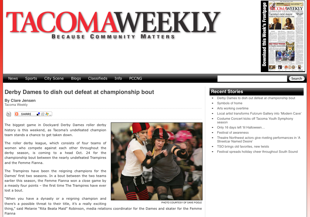 tacoma weekly picture
